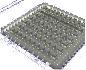 Výpočty a návrh LED osvětlovací soustavy H3-PPS Detva